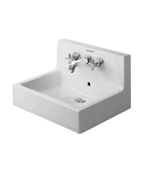 Duravit Vero White 600 x 470mm 3 Tap Hole Grinded Washbasin