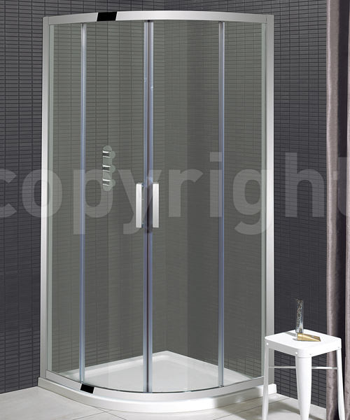 Simpsons Elite Double Door Quadrant Shower Enclosure 800 x 800mm