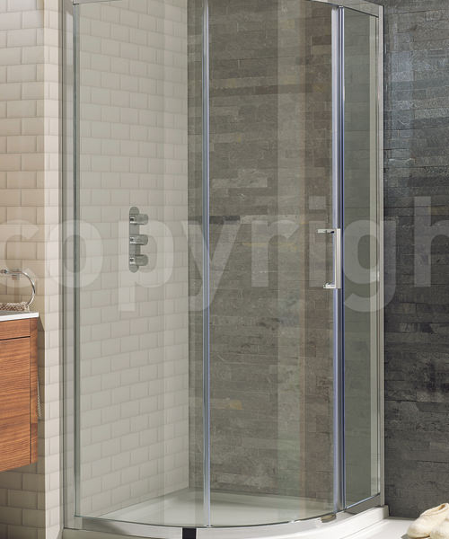 Simpsons Elite Single Door Quadrant Shower Enclosure 900 x 900mm