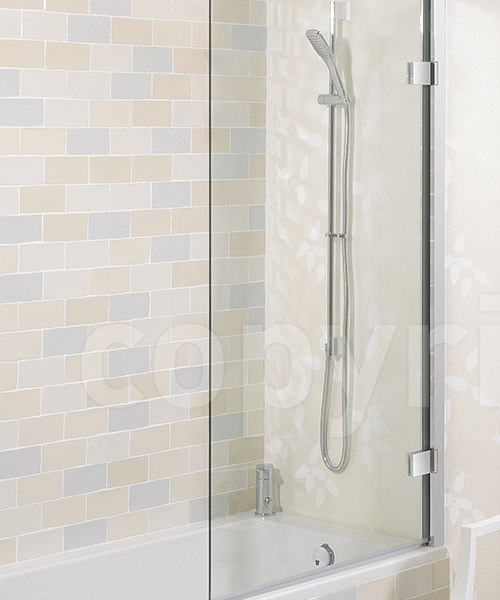 Simpsons Elite 900mm Hinged Bath Screen