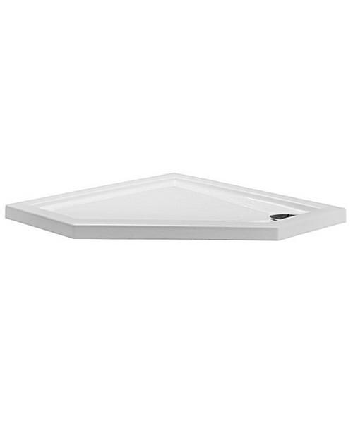 Simpsons Pentagon 900 x 900mm Low Profile Shower Tray