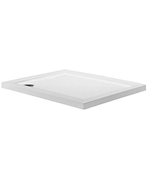 Simpsons Rectangular 1000 x 800mm Low Profile Shower Tray