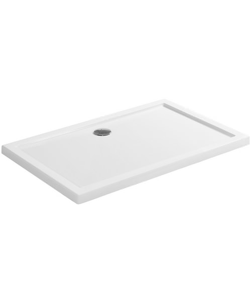 Simpsons Rectangular 1200 x 800mm Low Profile Shower Tray