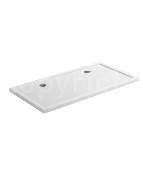 Simpsons Rectangular 2000 x 800mm Low Profile Shower Tray