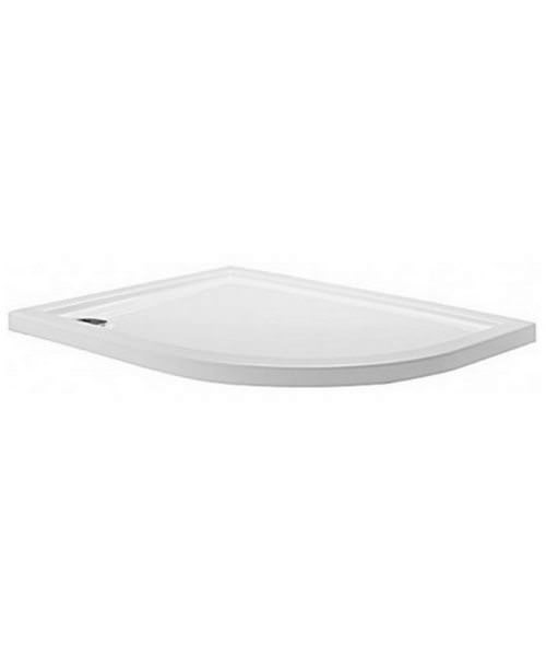 Simpsons Offset Quadrant 1200 x 800 Low Profile Shower Tray Right