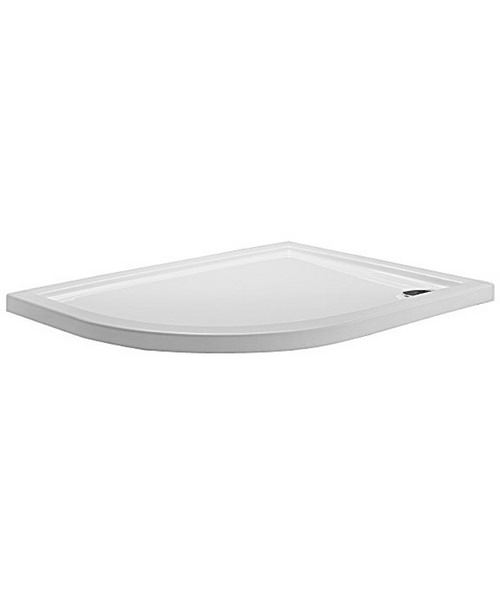 Simpsons Offset Quadrant 1200 x 900 Low Profile Shower Tray LH