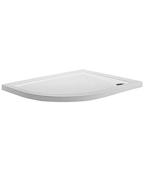 Simpsons Offset Quadrant 1200 x 900 Low Profile Shower Tray LH