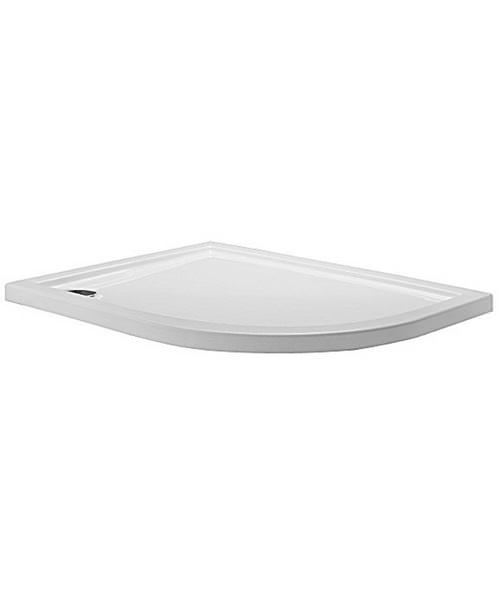Simpsons Offset Quadrant 1200 x 900 Low Profile Shower Tray RH