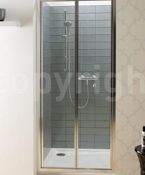 Simpsons Edge 900mm Bifold Shower Door