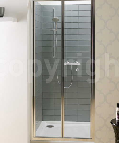 Simpsons Edge 1000mm Bifold Shower Door