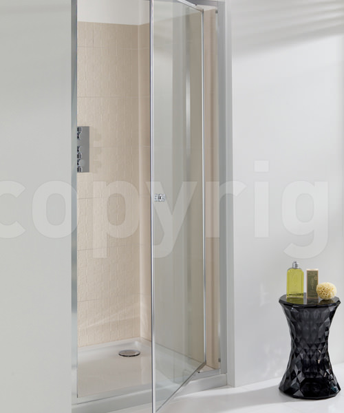 Simpsons edge 1000mm pivot shower door for 1800mm high shower door