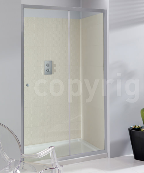 Simpsons Edge 1200mm Single Slider Shower Door