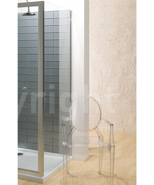 Simpsons Edge 900mm Side Panel For Shower Enclosure