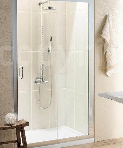 Simpsons Classic Single Slider Shower Door 1100mm