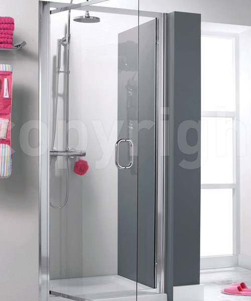 Simpsons Supreme 760-800mm Luxury Pivot Shower Door