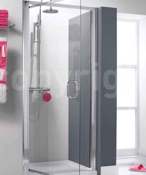 Simpsons Supreme 900mm Luxury Pivot Shower Door