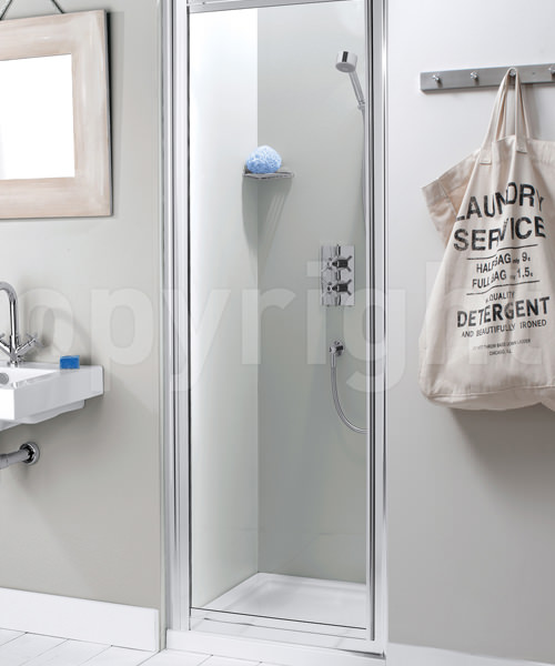 Simpsons Supreme 600mm Plus Framed Pivot Shower Door