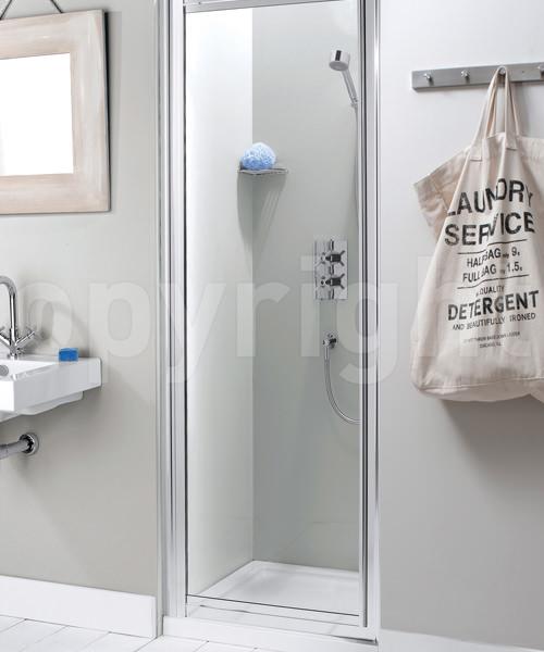Simpsons Supreme 760-800mm Framed Pivot Shower Door