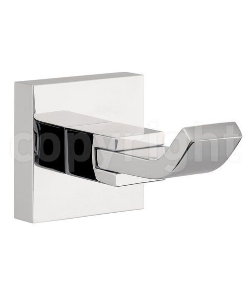 Crosswater Zeya Single Robe Hook Chrome