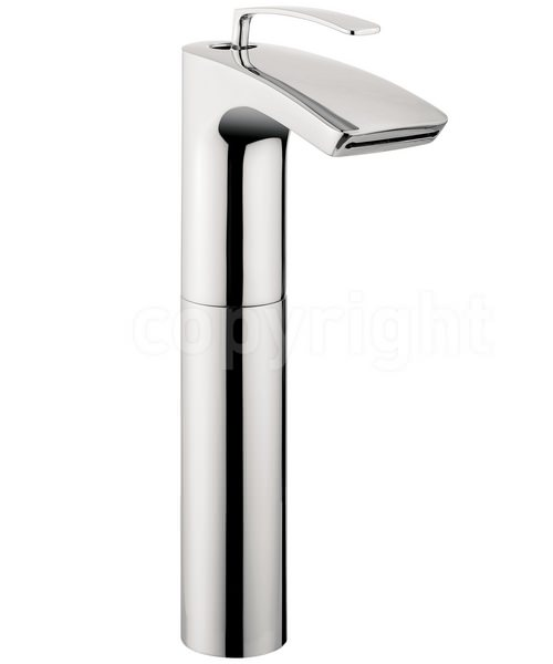 Crosswater Essence Tall Monobloc Basin Mixer Tap Chrome