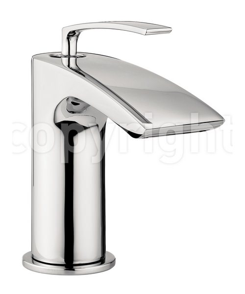 Crosswater Essence Mini Monobloc Basin Mixer Tap Chrome