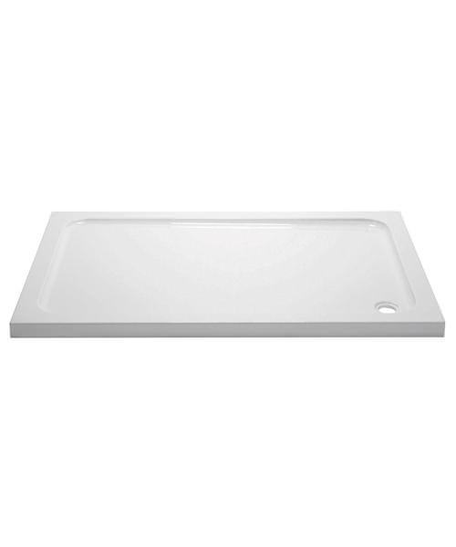 Aquadart Rectangular 1000 x 800mm Shower Tray