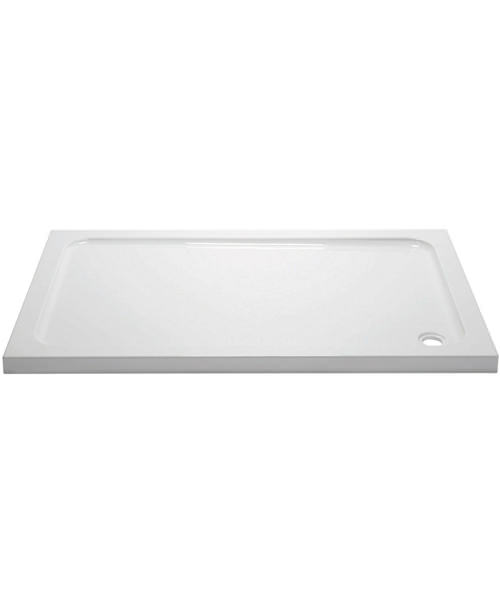 Aquadart Rectangular 1200 x 760mm Shower Tray