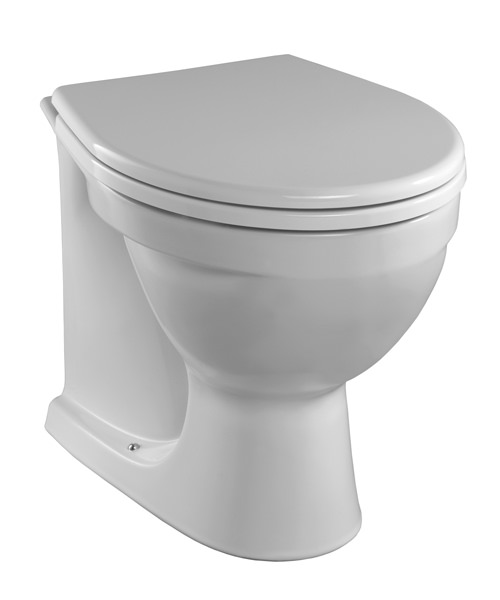 Twyford Alcona Back-To-Wall Toilet 520mm
