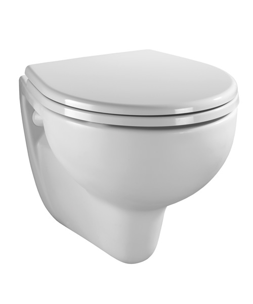 Twyford Alcona Wall Mounted 520mm Projection Toilet