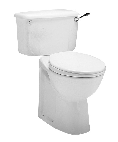 Twyford Avalon 750mm Close Coupled WC Pan With Horizontal Outlet
