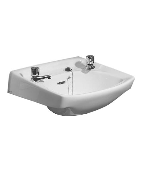Twyford Classic 2 Tap Hole 560mm Width x 415mm Depth Washbasin