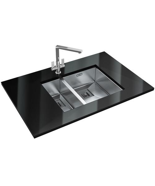 Franke Peak Pkx 160 34 18 Dp Stainless Steel Sink And Tap