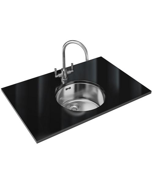 Franke Rotondo Rux 110 Designer Pack Stainless Steel Sink