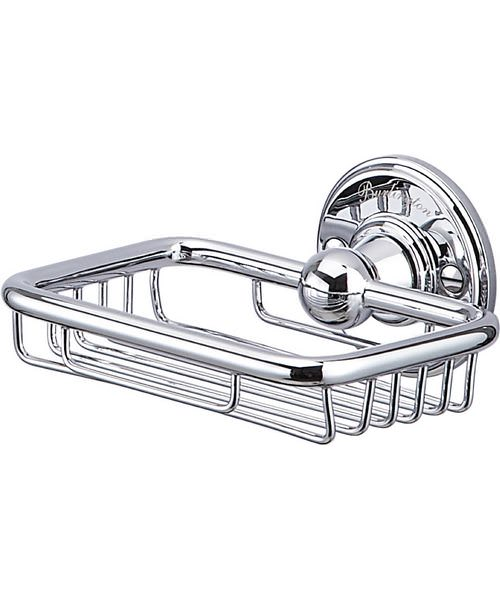 Burlington Chrome Plated Soap Basket