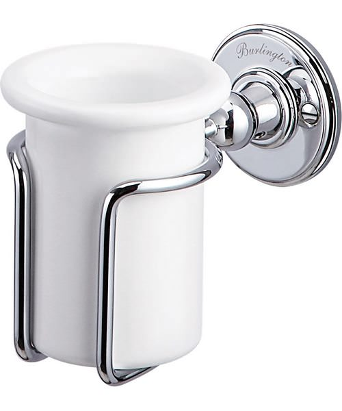Burlington Chrome Plated Tumbler Holder