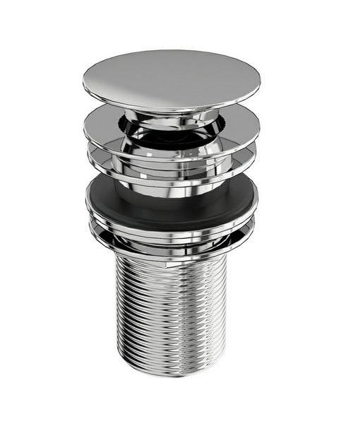 Burlington Click-Clack Push Button Basin Waste