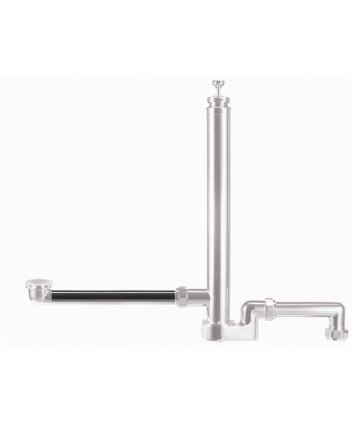 Burlington Chrome Plated Fire Hydrant Extension Pipe