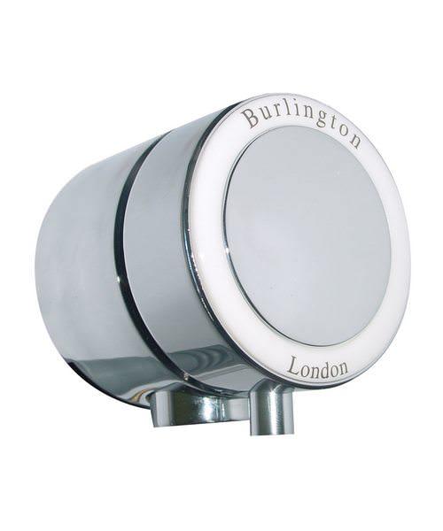 Burlington Chrome Overflow Filler For Single Ended Bath