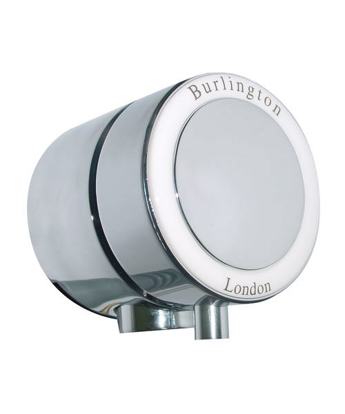 Burlington Chrome Plated Overflow Filler For Double Ended Bath