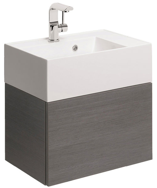 Additional image of Bauhaus Elite 500mm Single Drawer Basin Unit