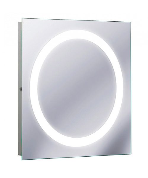 Bauhaus Edge 550 x 550mm Illuminated Mirror