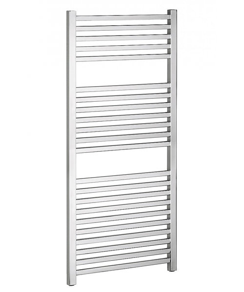 Bauhaus Magnum Chrome Straight Towel Rail 500 x 1110mm