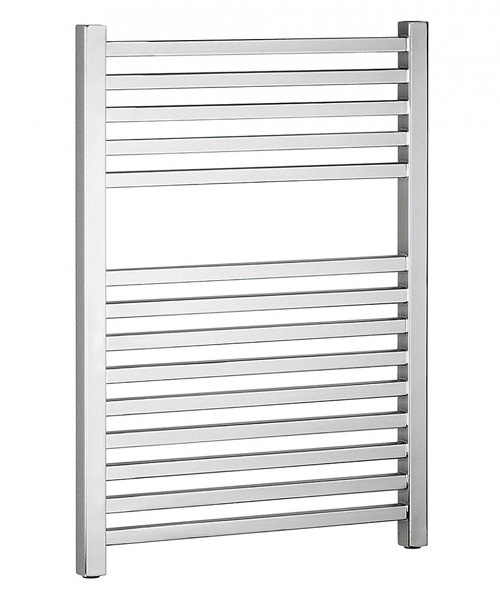Bauhaus Magnum 500 x 690mm Chrome Finished Straight Towel Rail