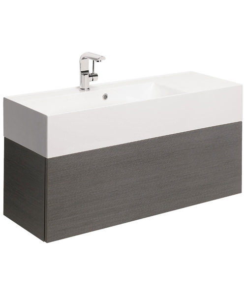 Additional image of Bauhaus Elite 1000mm Single Drawer Basin Unit