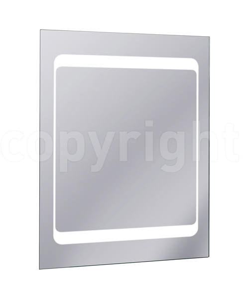Bauhaus Linea Back Lit 600 x 800mm With Demister Pad
