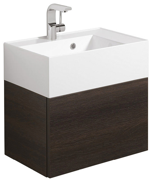 Bauhaus Elite 500mm Single Drawer Basin Unit