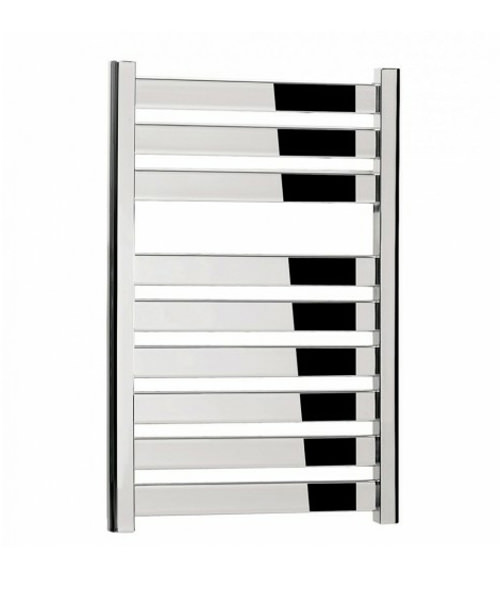 Bauhaus Edge 500 x 720mm Straight Flat Panel Towel Rail Chrome