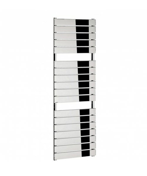 Bauhaus Elite 500x1510mm Chrome Flat Panel On Tube Towel Rail