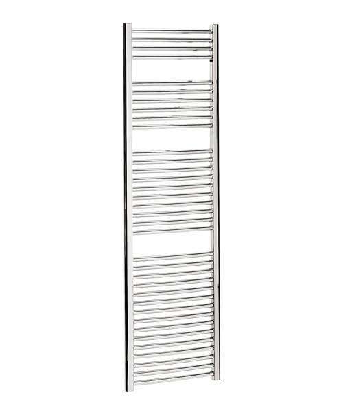Bauhaus Stream 500 x 1700mm Curved Panel Towel Rail
