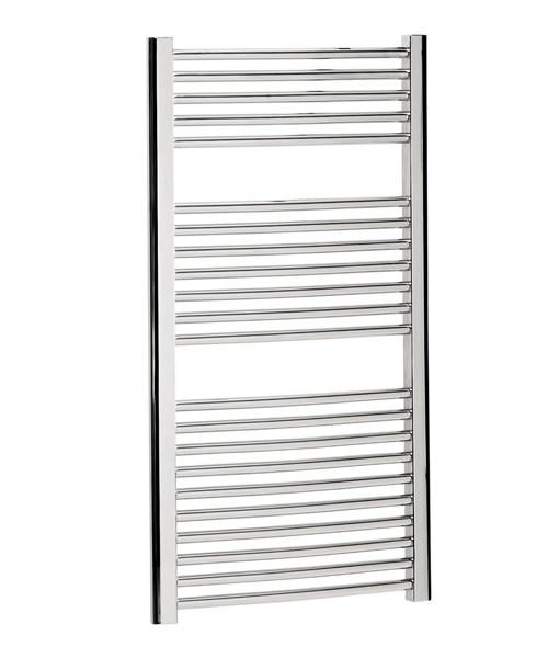 Bauhaus Stream 600 x 1110mm Curved Panel Towel Rail